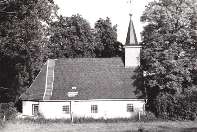 Kirche Hirschendorf 1984.