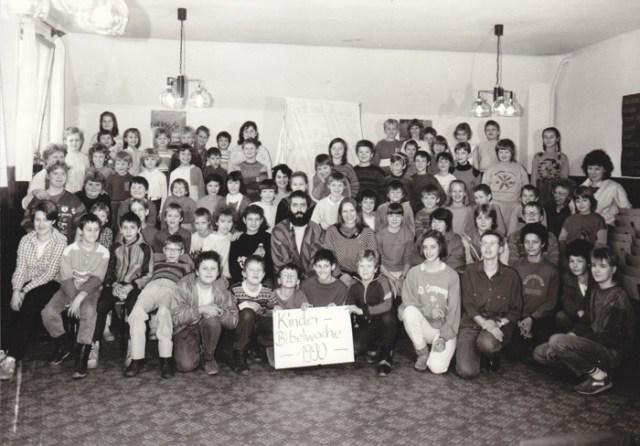 Kinderbibelwoche 1990 im Pfarrhaus Crock.