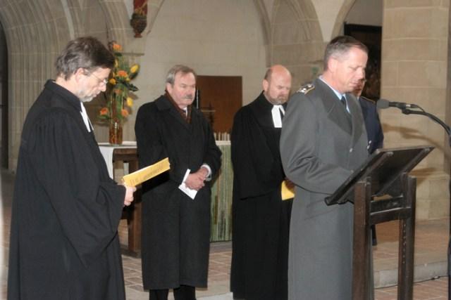 Amtseinführung, Predigerkirche Erfurt.