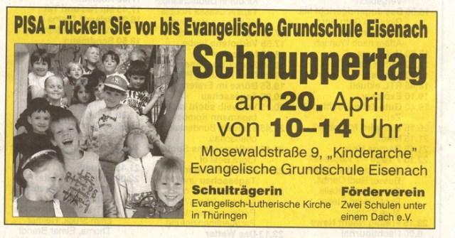 Evangelische Grundschule Eisenach.