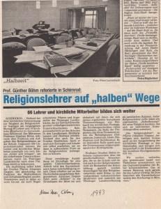 Coburger Presse 1993