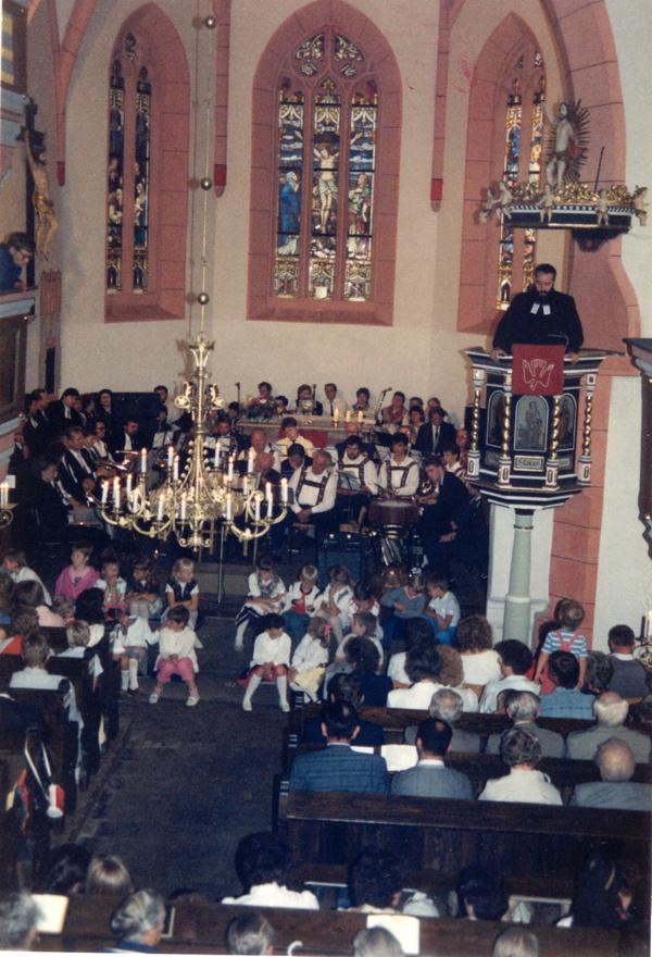 Die Predigt zum Festgottesdienst durch Ortspfarrer Johannes Ziegner.
