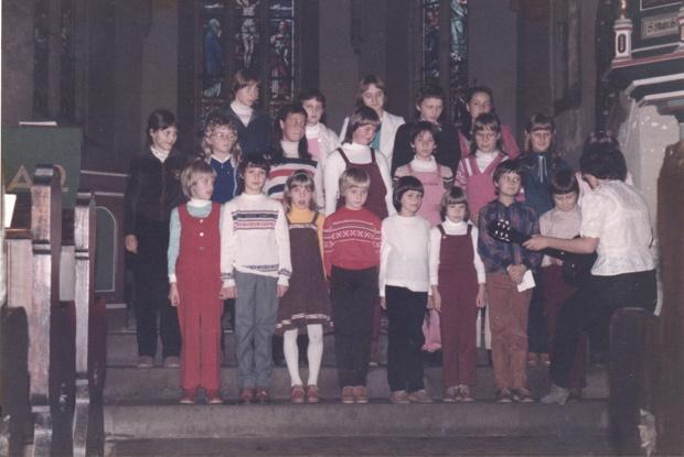 Kinderchor der Kirchgemeinde Crock-Oberwind