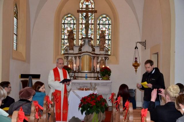 Taufgottesdienst im Eichsfeld November 2013