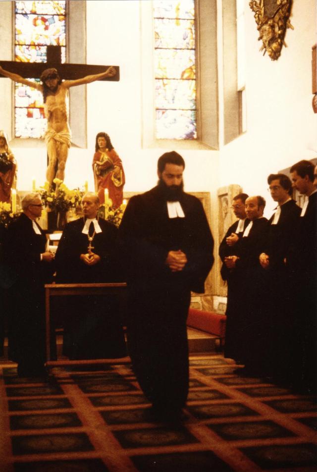 Ordination, nach der Einsegnung