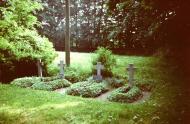 Kriegsräber, Alter Friedhof Crock, vor 1990
