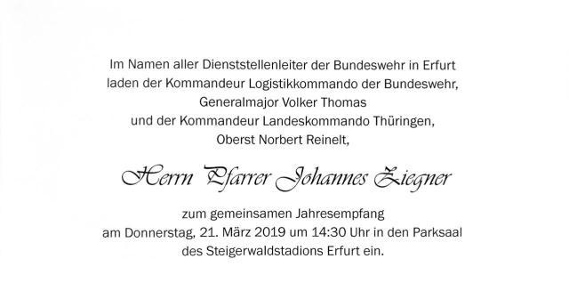 Einladung 2019