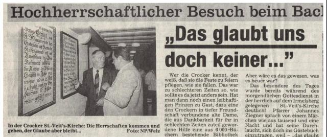 Prinz von Hohenzollern in Crock 1990