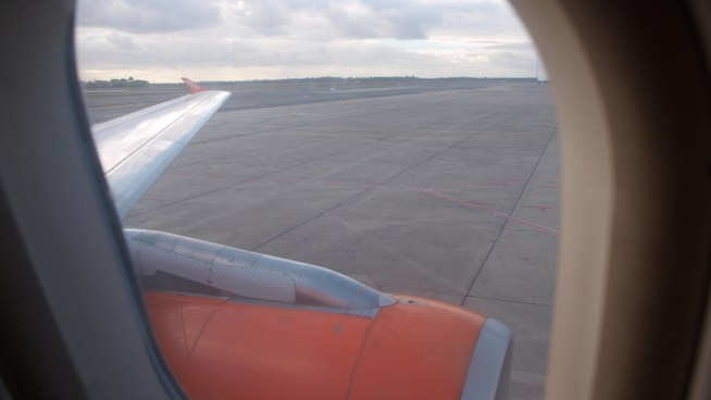 Avion Easyjet à Bordeaux