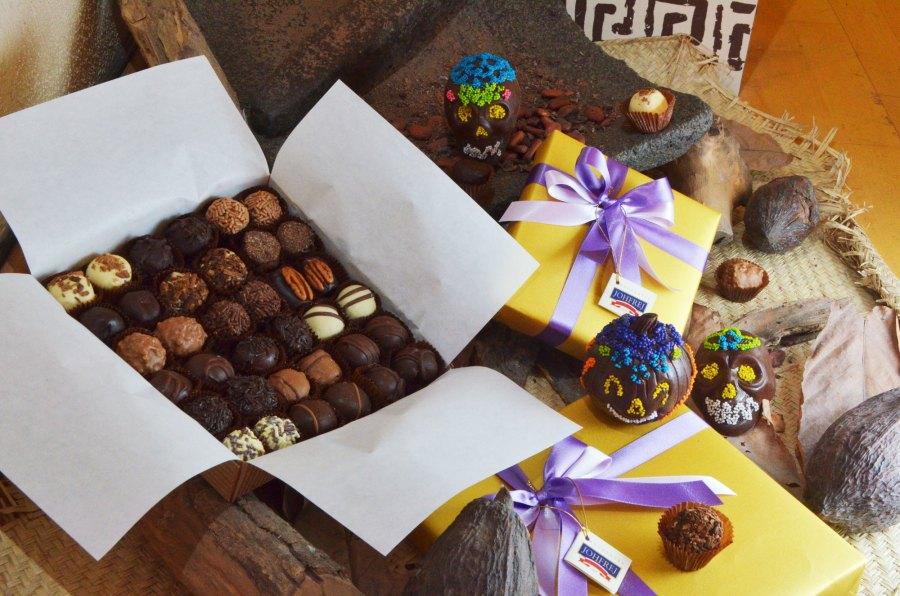 Nuestra caja de Chocolates con Licor