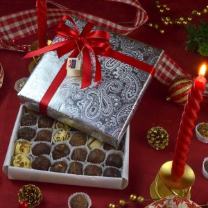 36 Corrugated Chocolate Box