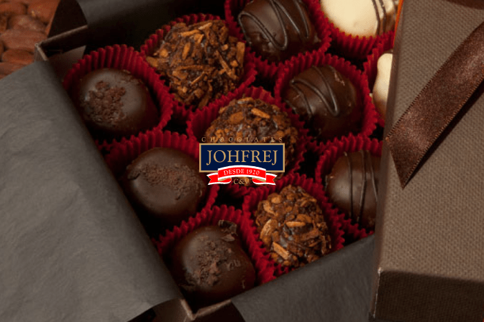 A sublime experience buying a box of fine chocolates