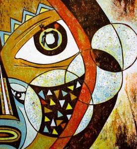 Painting by NDASUUNJE JOSEPH SHIKONGENI