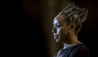 Chimamanda Ngozi Adichie at our event for 'Americanah' in February, 2014