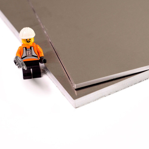 plaque d aluminium brut et brillant 5754h111