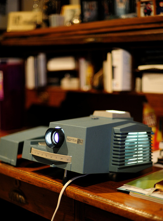 When's the last time you popped some corn and fired up the slide projector?