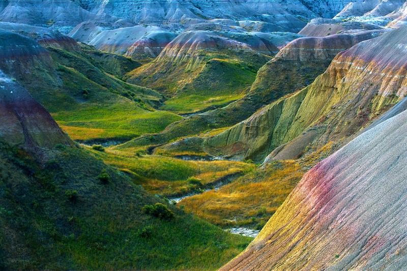 Badlands National Park, Yellow Mounds area.
