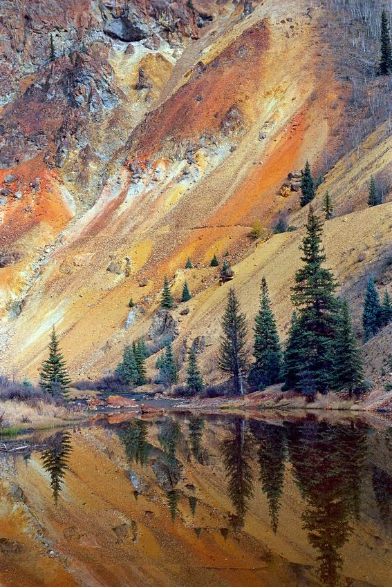 Red Mountain, Silverton, Colorado. Kodak Ektar processed in Cinestill Cs41 Color Simplified kit.