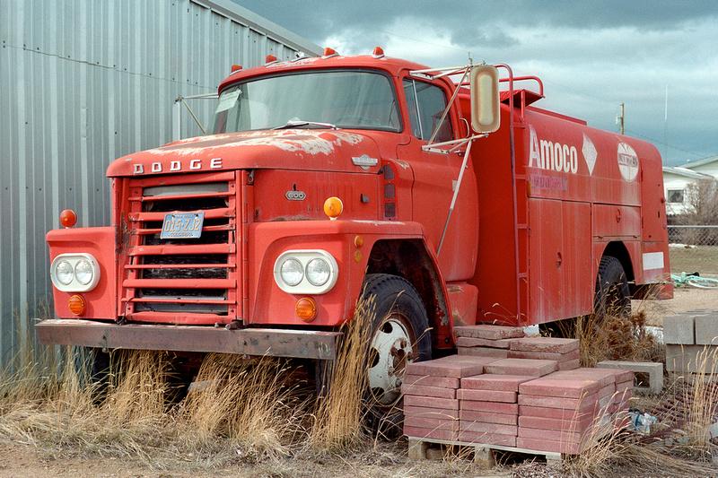 Old Dodge Gasoline hauler, Walden, Colorado (2015)