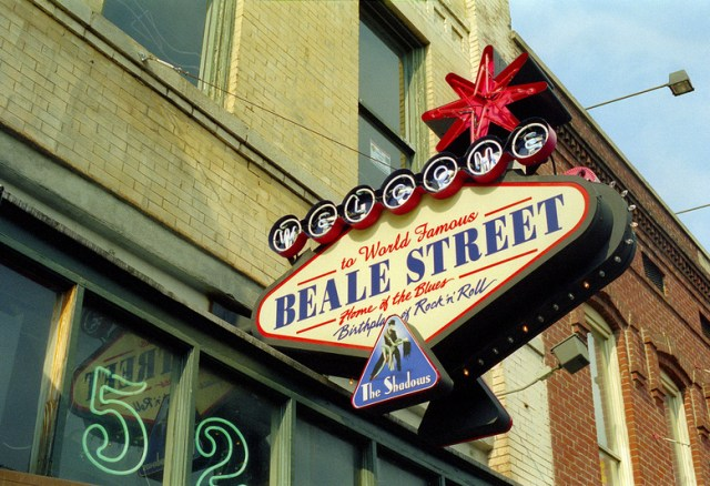 Beale Street, Memphis, Tennessee (2014)
