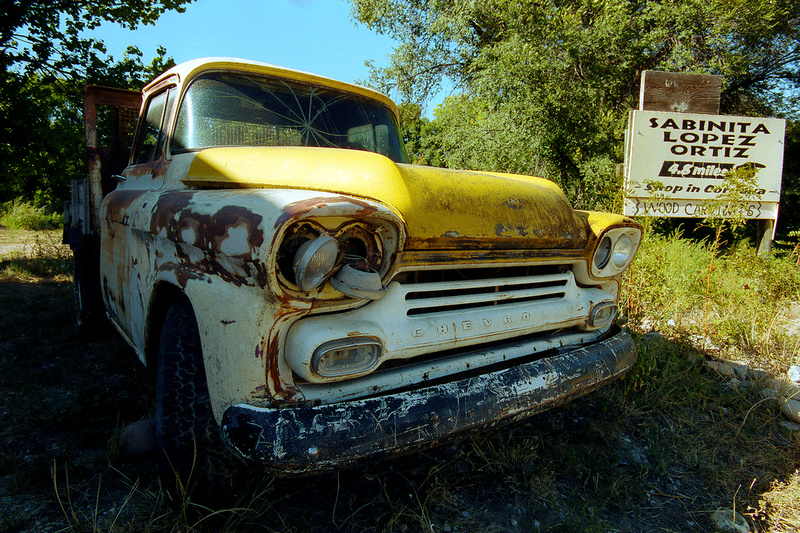 Old, Chevy Pick Up, Chimayo, New Mexico (2014)