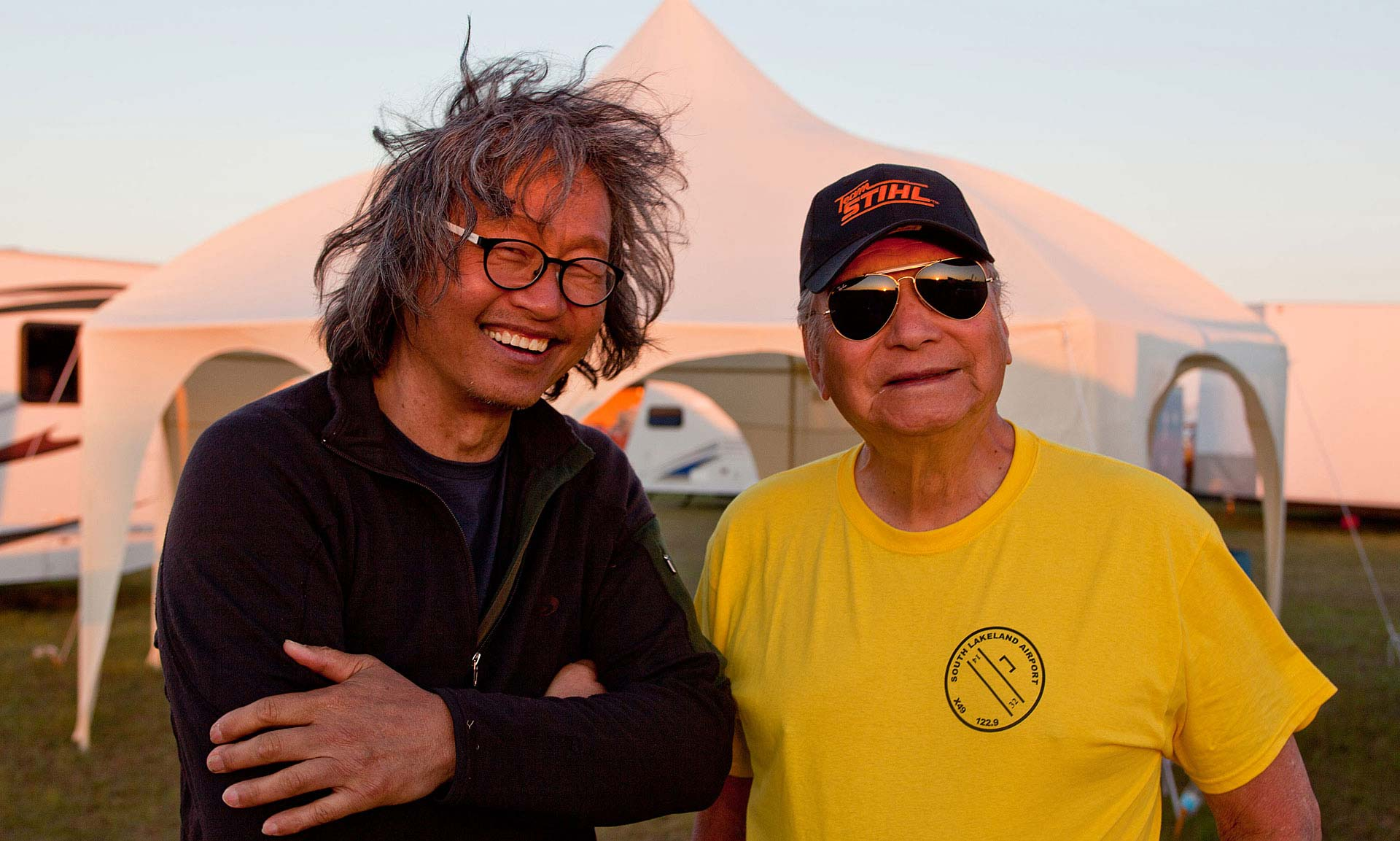 Top Chinese-American Photojournalist John Chao, Thomas Hsueh, founder of Triton Aerospace