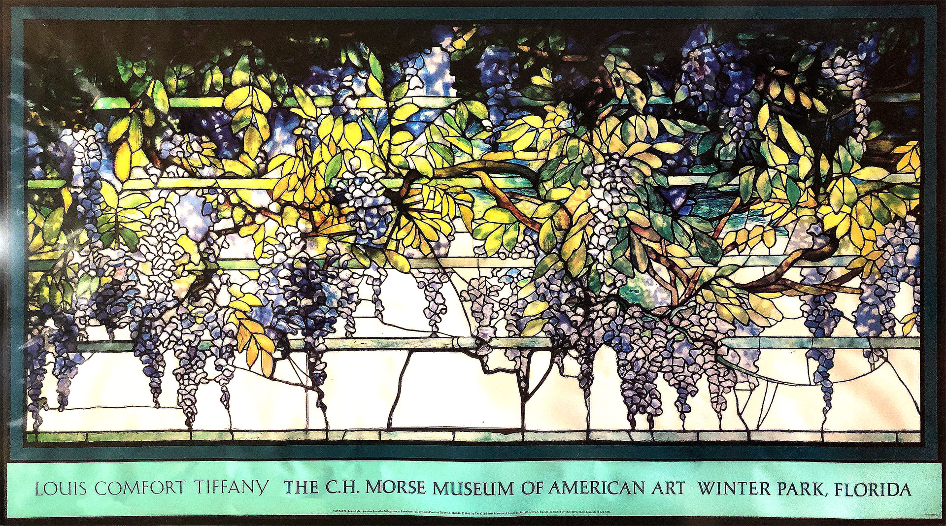 Tiffany's Poster for the Metropolitan Museum by John Chao