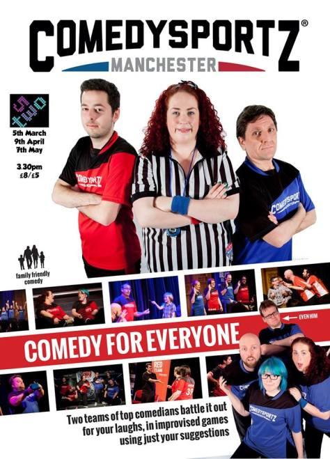 Comedysportz returns to Manchester