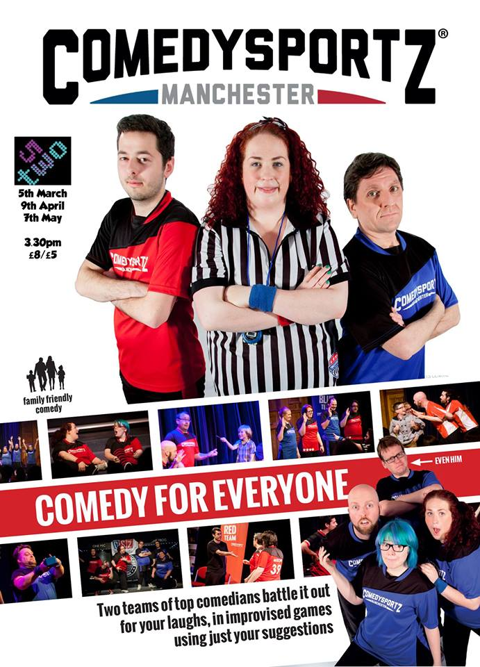 Comedysportz returns to Manchester