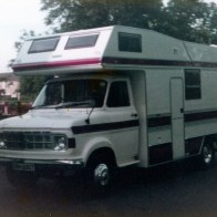 The start of the motorhome my father commissioned to be built in Grimsby brand new circa 1981