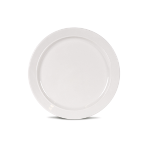 Kampa Dometic Classic White Side Plate – Melamine Tableware