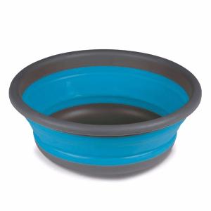 Kampa Dometic Medium Collapsible Round Washing Bowl Blue – Kitchenware – 9120001405