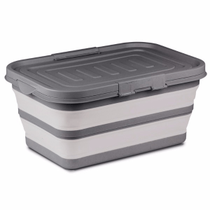 Kampa Dometic Collapsible Large Storage Box Grey – Collapsible Kitchenware – 9120001410
