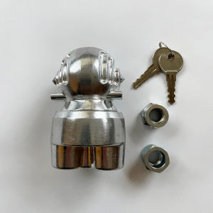 Milenco Ball Type Hitchlock with Security Nuts