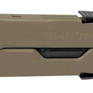 Leatherman LT550-CB Rebar Coyote & Black with Nylon Sheath – Full-Size Multi-Tools