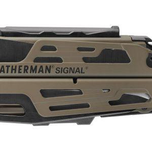 Leatherman LT700-CB Signal Coyote & Black with Nylon Sheath – Full-Size Multi-Tools