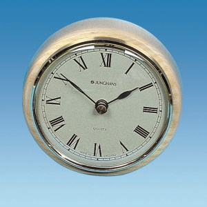 PLS ME502 – Caravan Clock, 85mm Surface, Brass