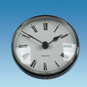 PLS ME505 – Caravan Clock, 72mm Round, Brass