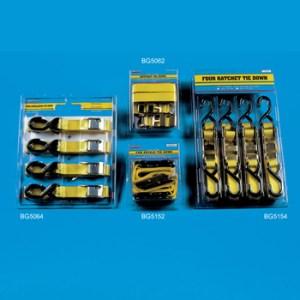 PLS BG5152 – 2 Pack – Rachet Tie Down Set