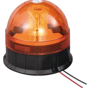 Maypole Beacon – Amber LED 12/24V 3X Bolt Fixing R10/IP66 – MP4090