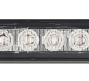 Maypole Strobe LED – Amber 12/24V 4X3W R65/R10/IP65 Bk – MP4111B
