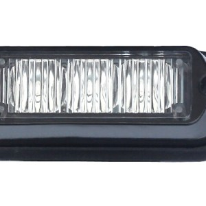 Maypole Strobe LED – Amber 12/24V 3X3W R65/R10/IP65 C/W Plastic Shroud Bk – MP4112B