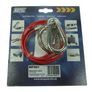 Maypole Breakaway Cable PVC Red 1M x 3mm Dp – MP501