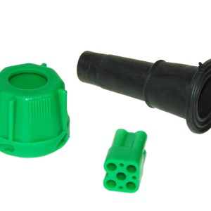 Maypole Harness – Radex 5 Pin Green Plug Kit (Bag Of 10 = 1) Dp – MP804PG