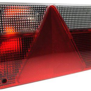 Maypole Lamp – L/H Rear Horizontal 4Pin 240mm Dax 168 & Up (Fp.96.150E) Bk – MP831BL