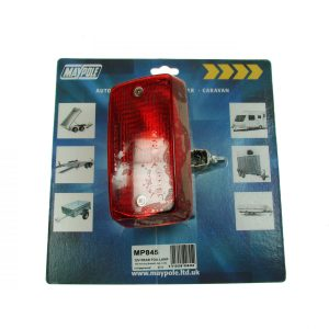 Maypole Lamp – Red Rear Fog 12V With Mounting Bracket Dp – MP845