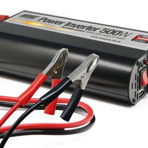 Maypole Power Inverter With USB 500W 12V/230V – MP56050