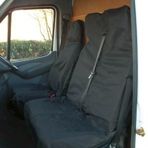 Maypole Cover – Universal Van / Pick-Up Seat Set – Black – MP6525