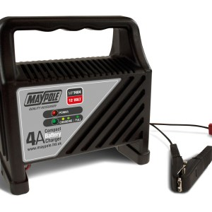 Maypole Compact Battery Charger 4A 12V – MP7404