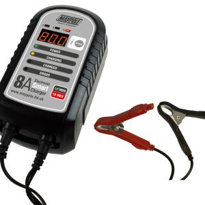 Maypole Battery Charger 8A 12V Electronic Smart Charger – MP7428